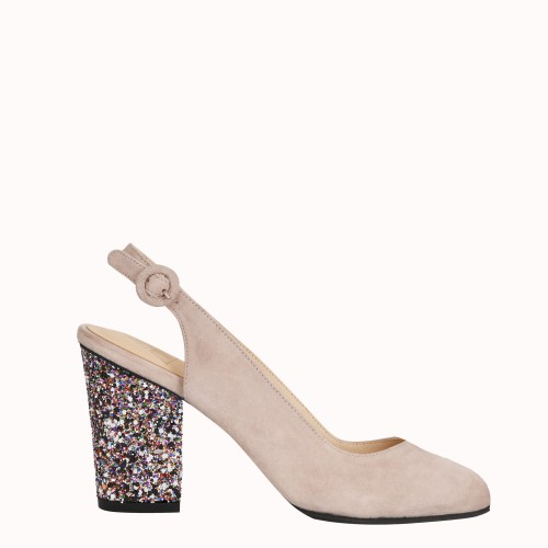 Slingbacks Nude Saint-Honoré