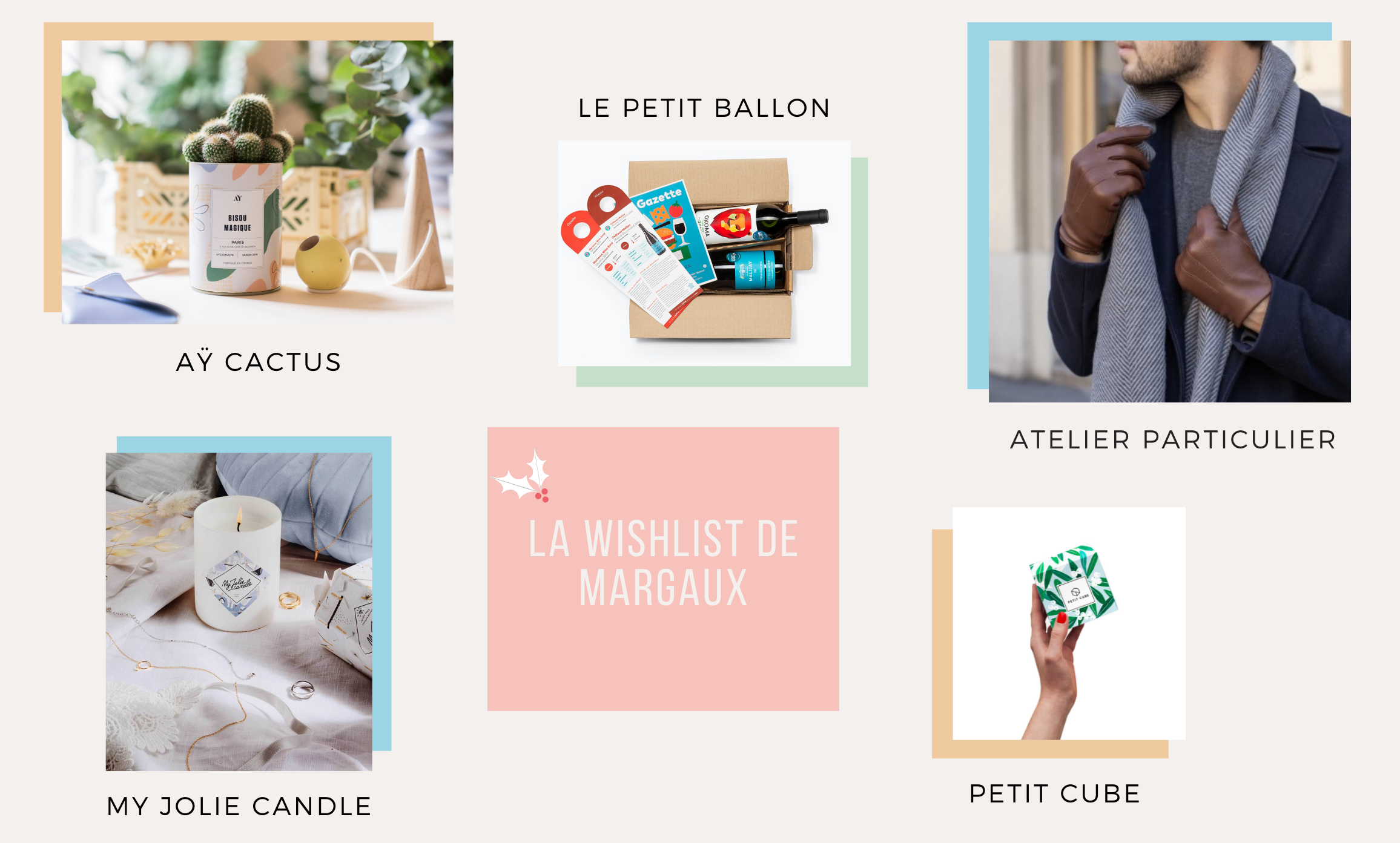 La Wishlist de Margaux