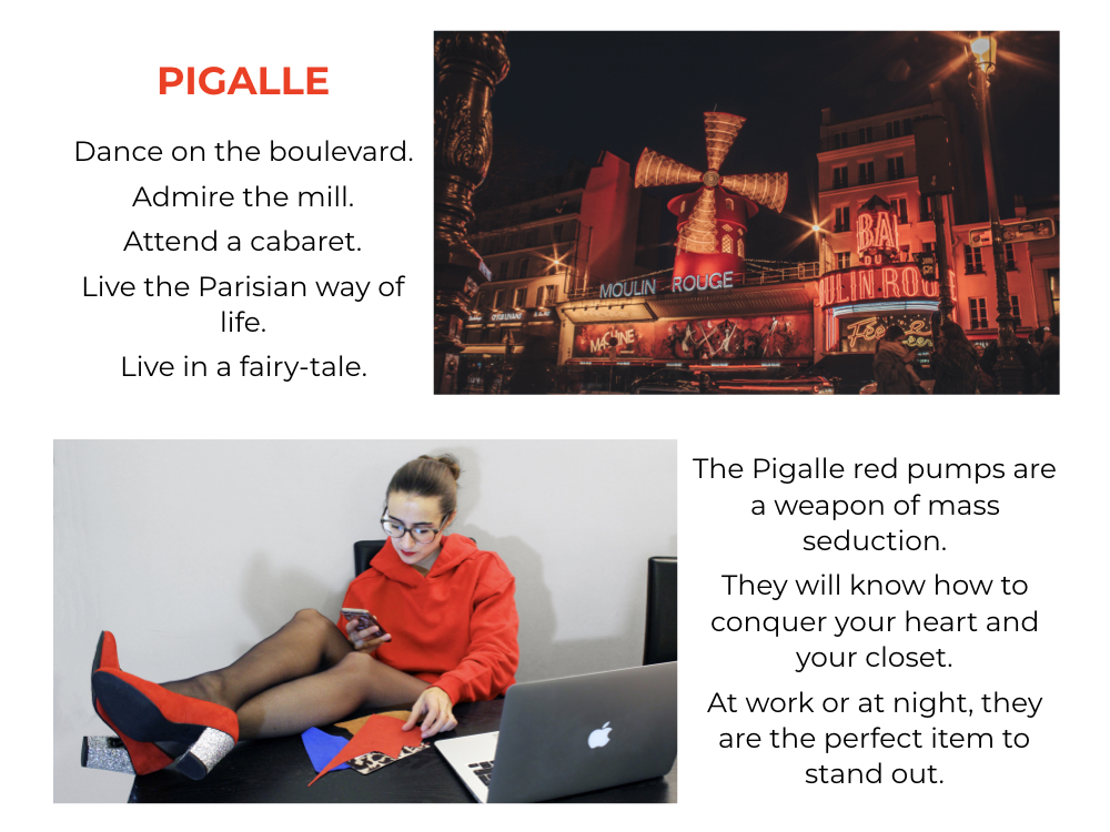 pigalle red pumps