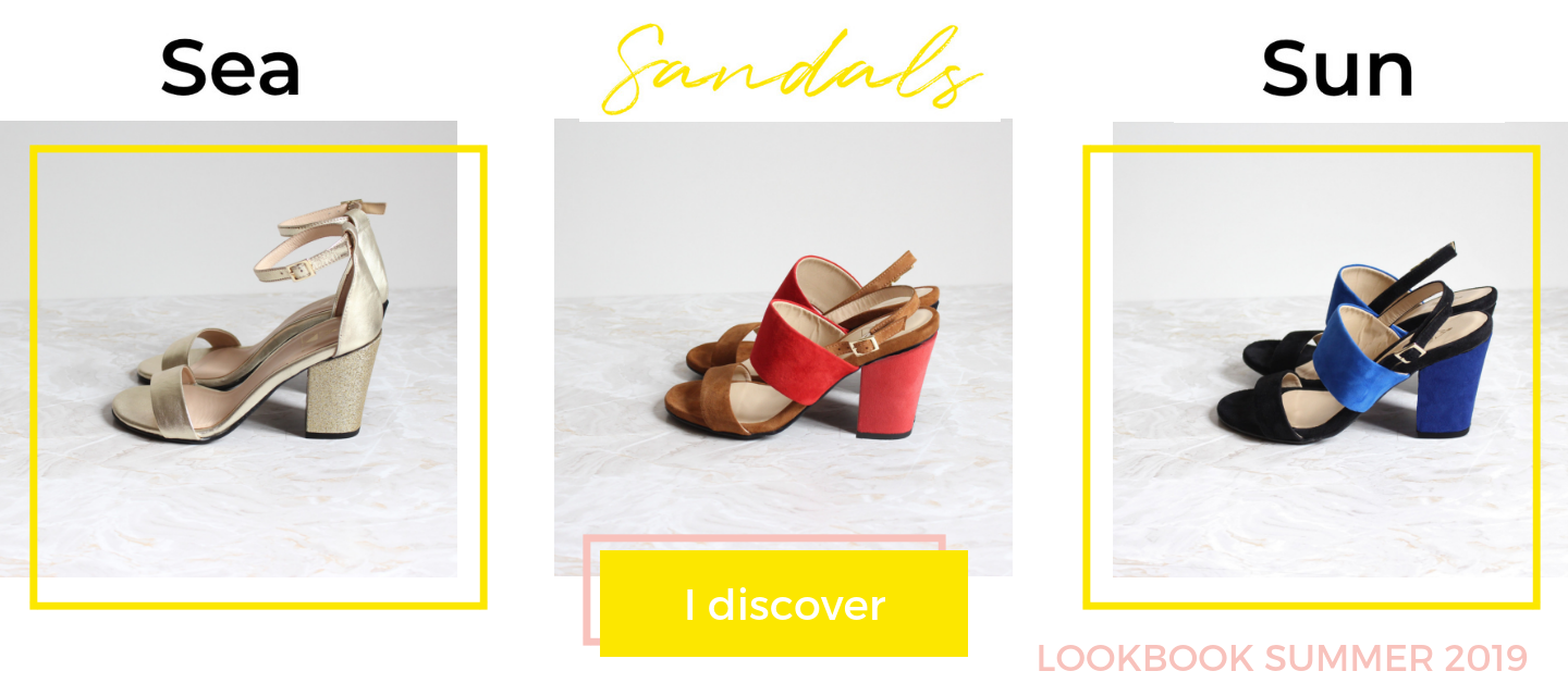 Summer 2019 sandals lookbook