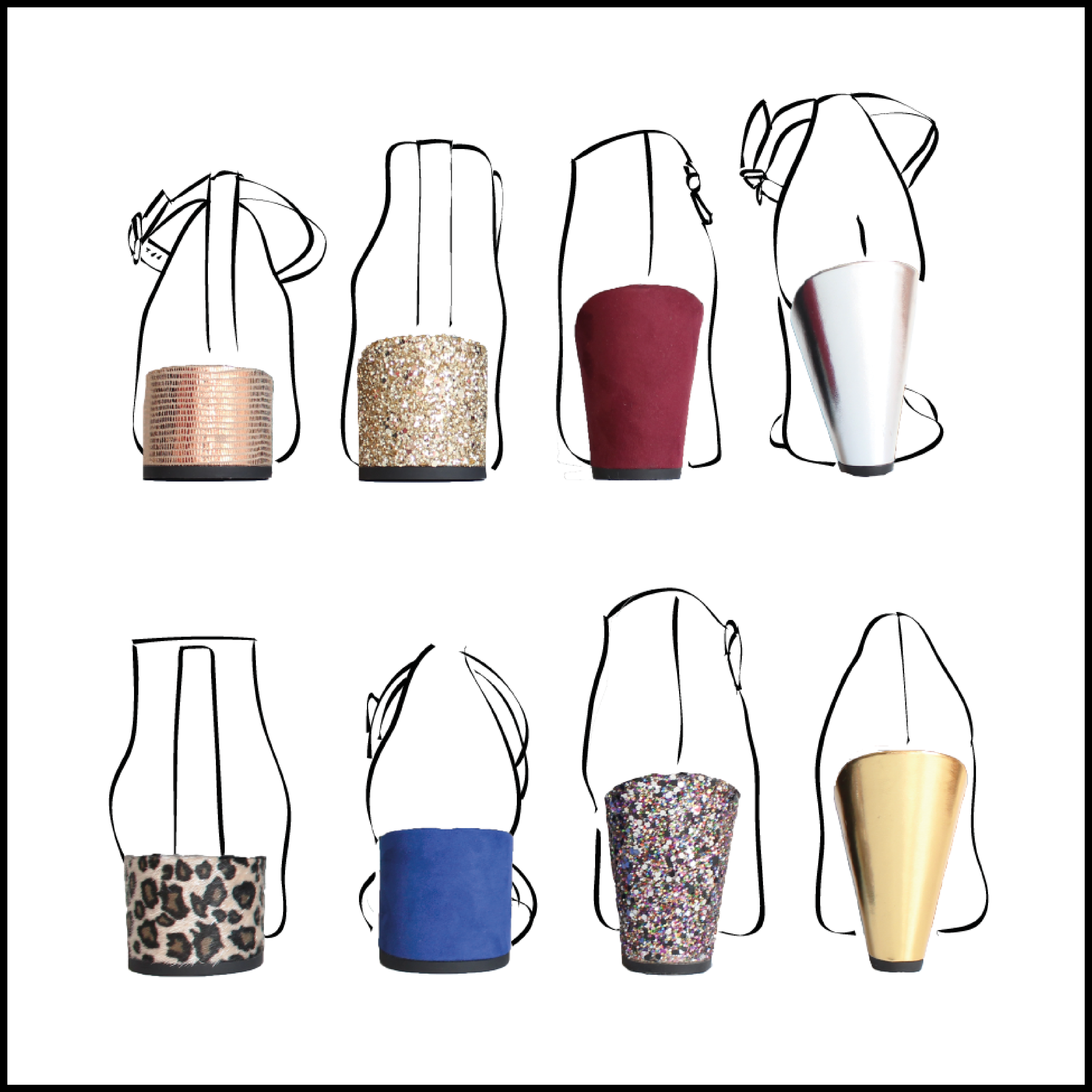The My Choupi Chouz interchangeable heels