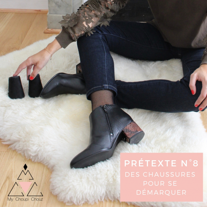 Pretext n°8: Shoes to assert your individuality